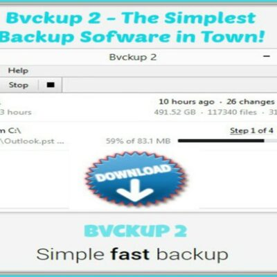 Bvckup the Best Backup Software