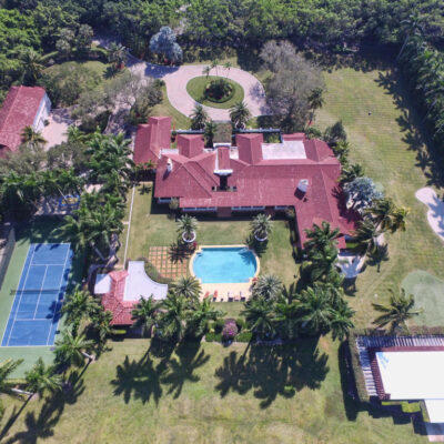 Chris Evert's Florida Tennis Home - It's A Deuce!
