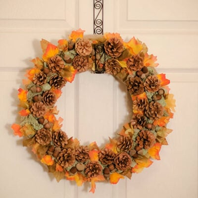 FEATURED Fall Handmade Wreath 39