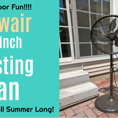FEATURED Misting Fan