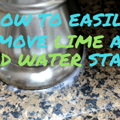 FEATURED REMOVE LIME AND HARD WATER