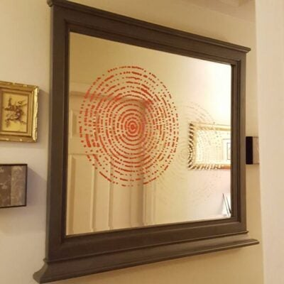 FEATURED Stencil Mirror
