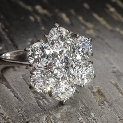 Featured diamond ring