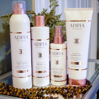 Finally! Drug Store Hair Care Products With Salon Results - Adria By Thalia FEATURED