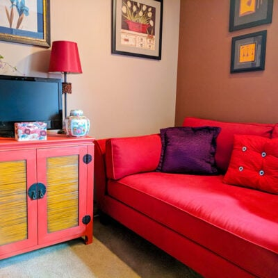 Fusion Red Cabinet featured