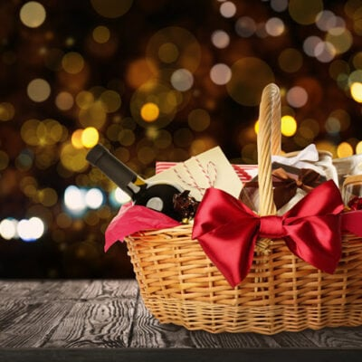 Gift Basket Ideas FEATURED