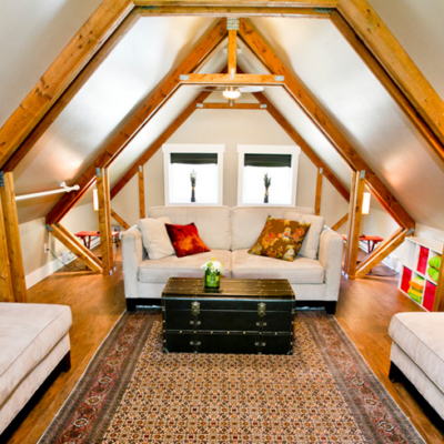 How To Convert Your Unused Attic Into Functional Living Space FEATURED