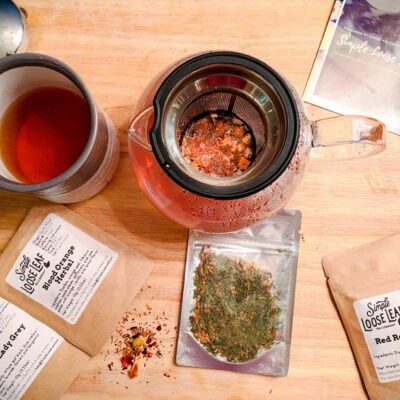 How To brew Loose Leaf Tea Featured