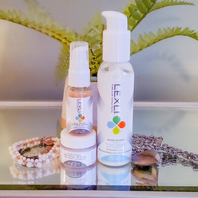 Lexli Skin Care Anti-Aging Perfect Solution Trio FEATURED