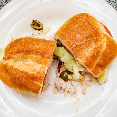 Loaded Tuna Salad Sandwich - You Need To Try This Recipe featured