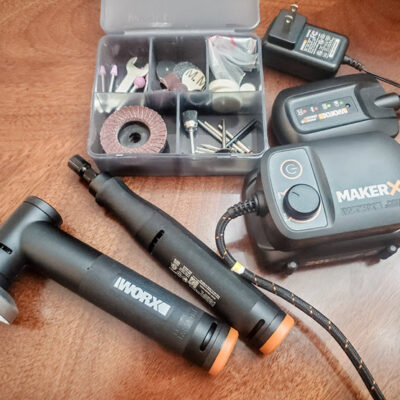 Love Crafting Tools You Need To See The Worx MAKERX Combo Kit FEATURED