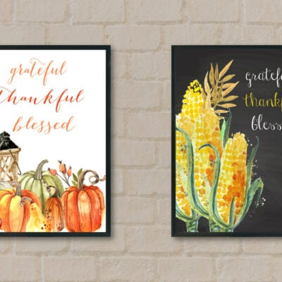 Mock Up Fall Printables