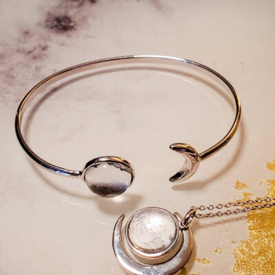Once A Moon Jewelry Made With Real Moon Meteorite 17