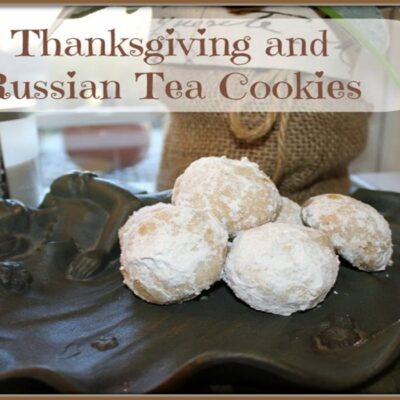 Russian Tea Cookie Recipe