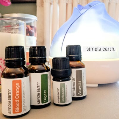 Simply Earth Essential Oils Recipe Box - Make Your Home All Natural FEATURED