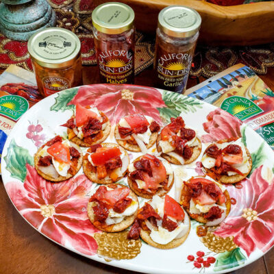 Sun Dried Tomatoes Italian Feast Appetizer FEATURED