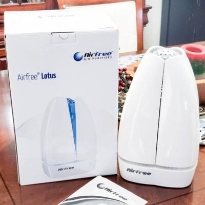 This Airfree Filterless Air Purifier Is Great For Allergy Relief! FEATURED