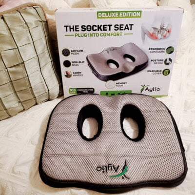 This Seat Cushion For Lower Back Pain Really Works The Socket Seat FEATURED