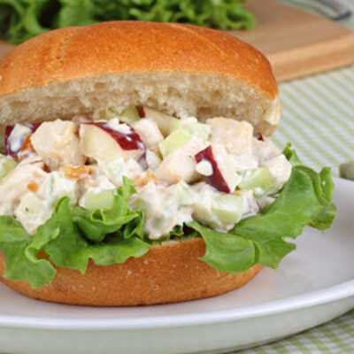 Almond, Apple, And Raisin Chicken Salad